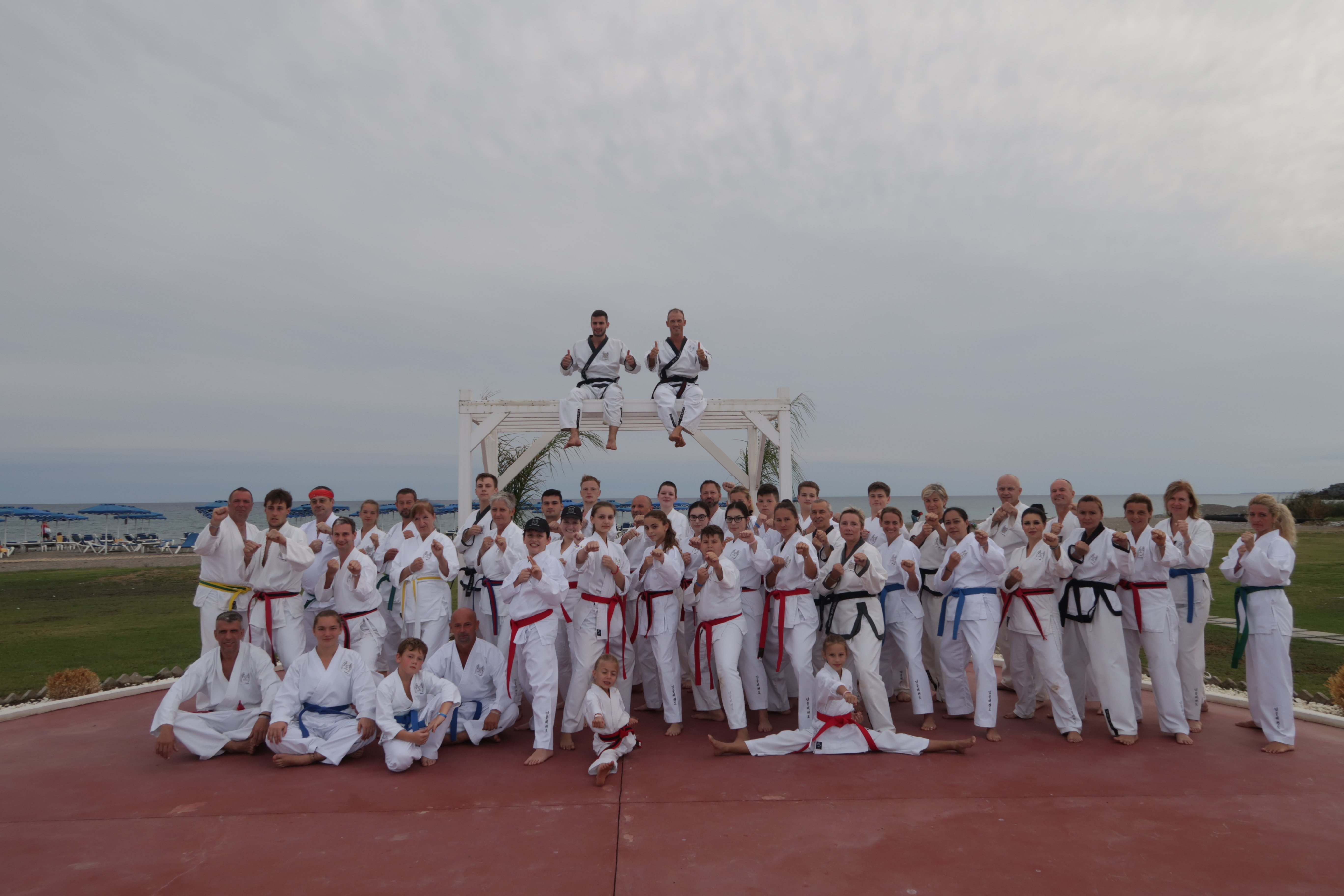 Rhodos, Camp, YOUNG-UNG Taekwondo, Prüfungen