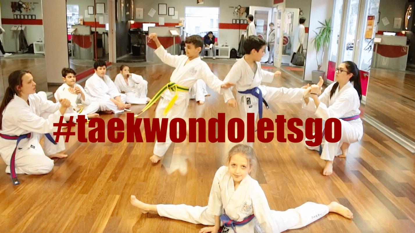 Taekwondoletsgo, YOUNG-UNG Taekwondo, Akrobatik, Dreh