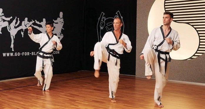 GFBB, neue Website, YOUNG-UNG Taekwondo,Kicks, üben