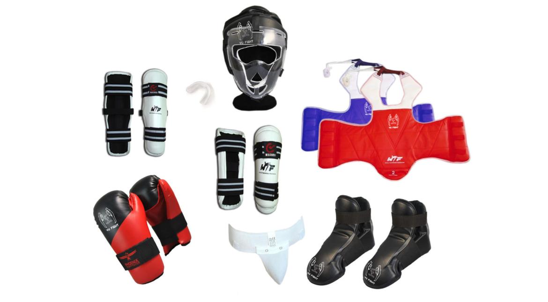 YOUNG-UNG Taekwondo Kampfsport YU FIGHT Kampfausrüstung