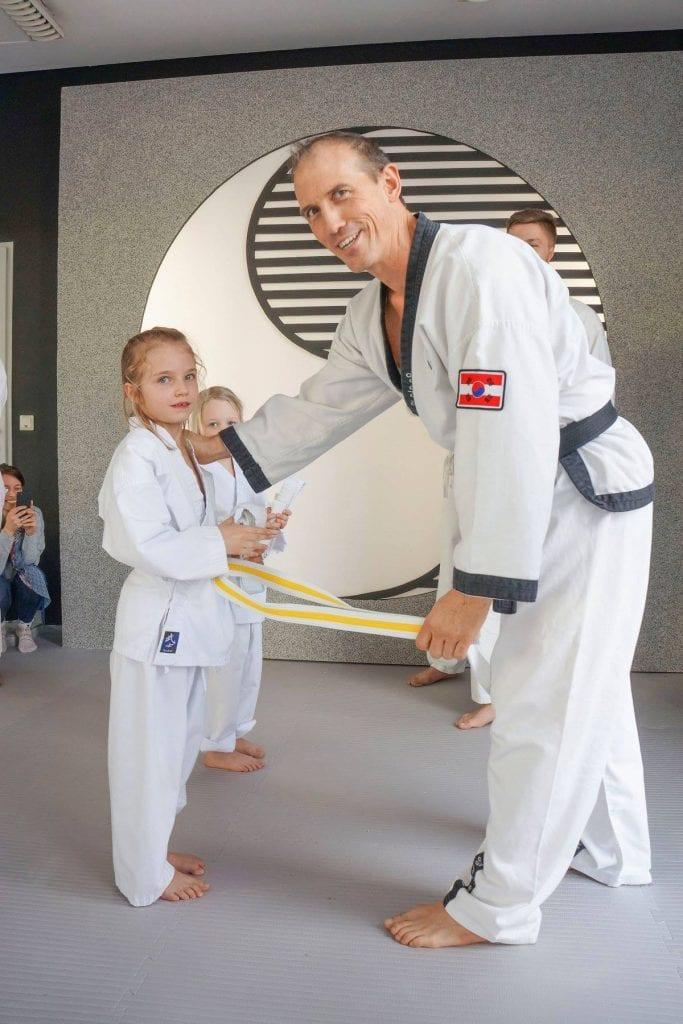 YOUNG-UNG Taekwondo Graz Neueröffnung Kampfsport