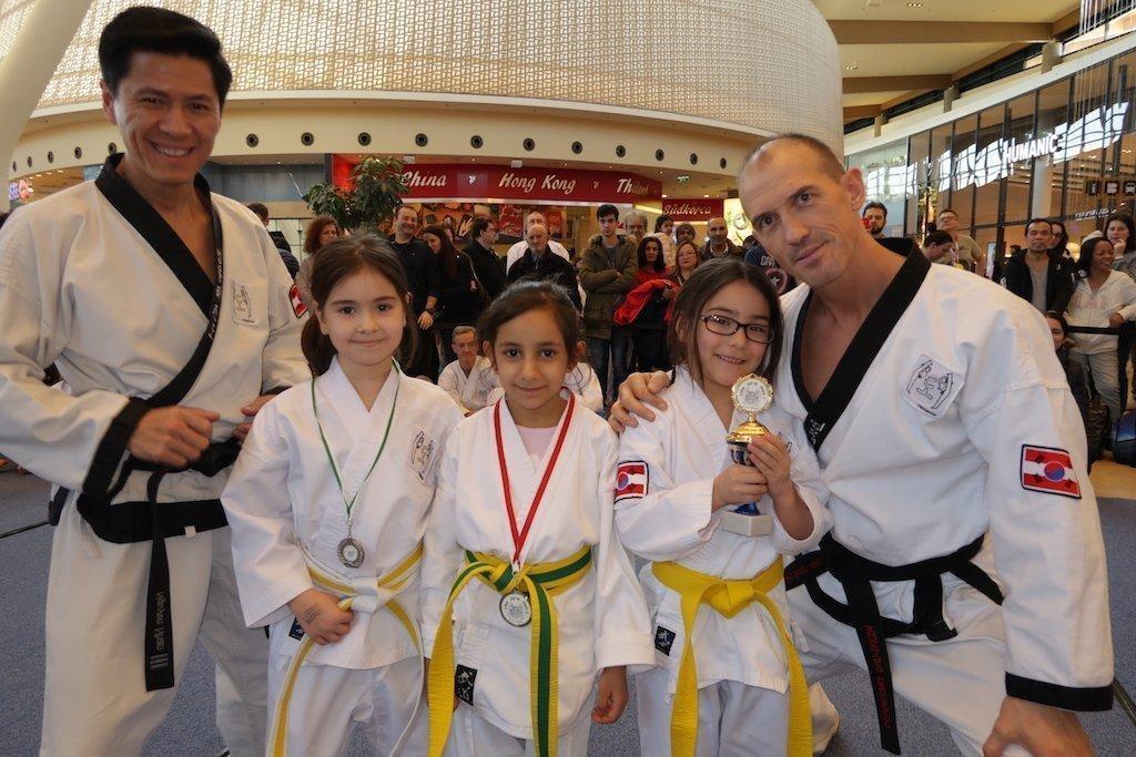 YOUNG-UNG Taekwondo Turnier G3 Kampfsport
