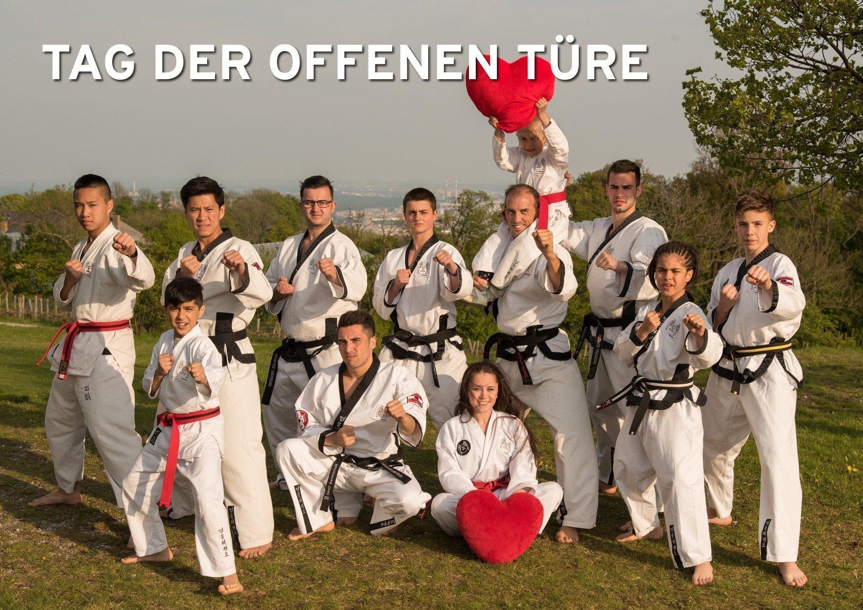 YOUNG-UNG Taekwondo Kampfsport Tag der offenen Türe