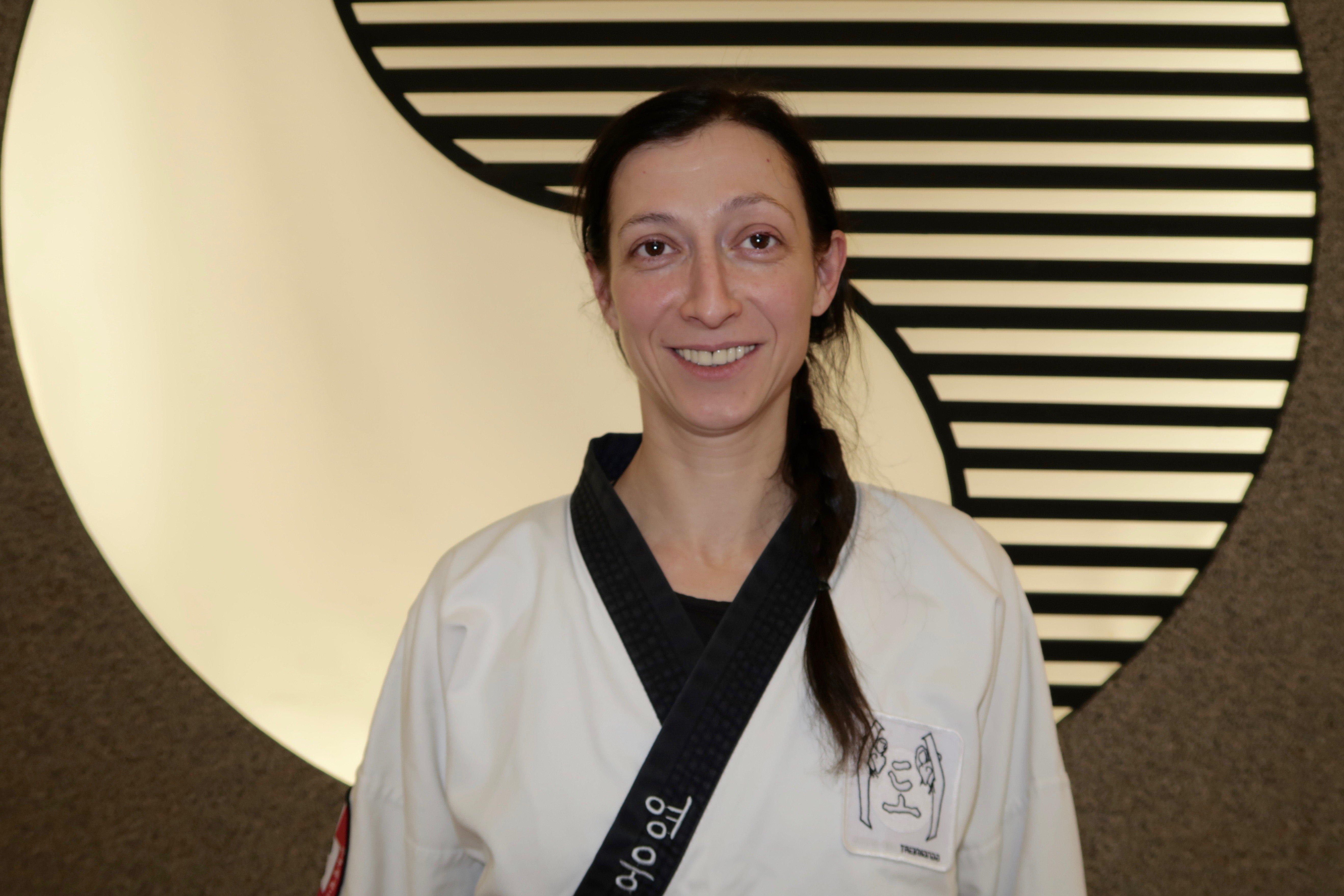 YOUNG-UNG Taekwondo Kampfsport Anita Thoma