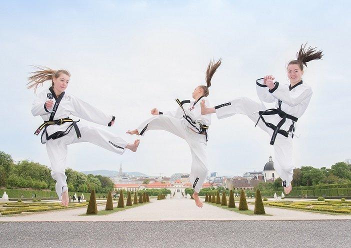 Weltfrauentag, Frauen, Gratis Training, YOUNG-UNG Taekwondo, Spaß, Trainieren