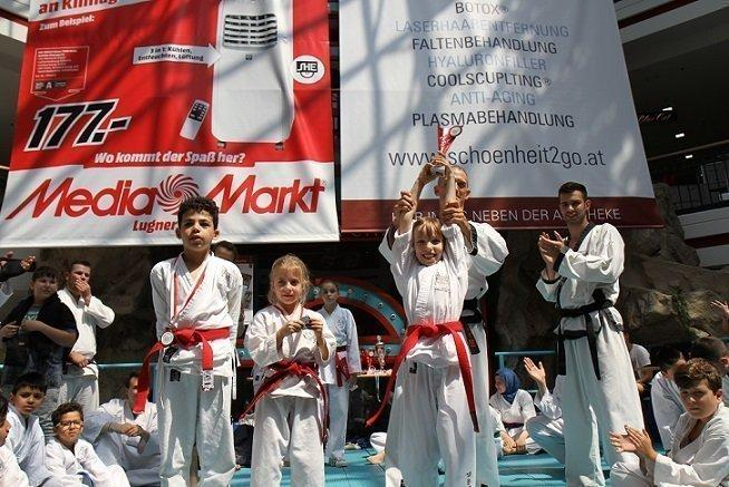 YOUNG-UNG Taekwondo, Turnier, Kampf, Bruchtest