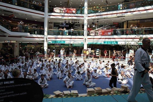 Turnier, YOUNG-UNG Taekwondo, Kampf, Bruchtest, Freikampf