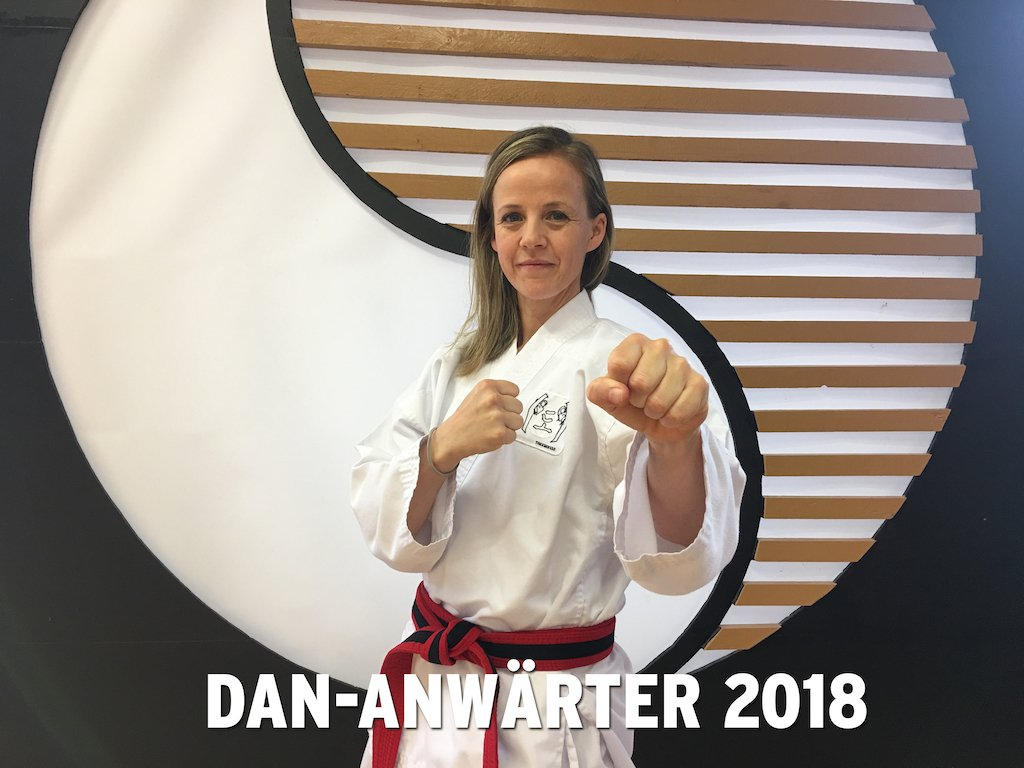 YOUNG-UNG Taekwondo Schwarzgurt Anwärter Marte Stokstad Kampfsport