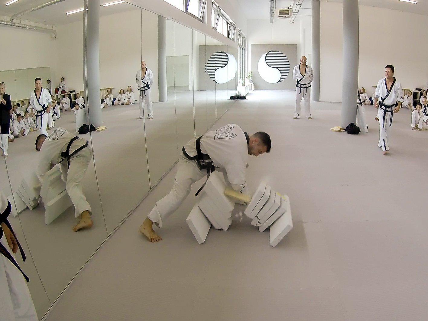 Neueröffnung YOUNG-UNG Taekwondo Kampfsport Wagramerstrasse 147 Zeitung Heute