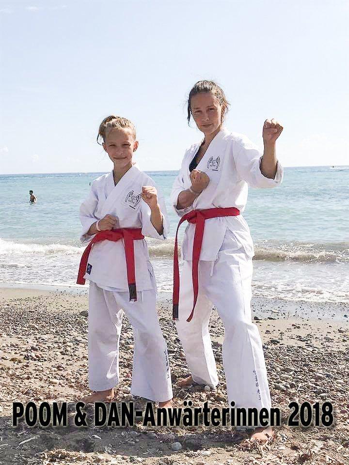 YOUNG-UNG Taekwondo Kampfsport Schwarzgurt Camp Bulgarien