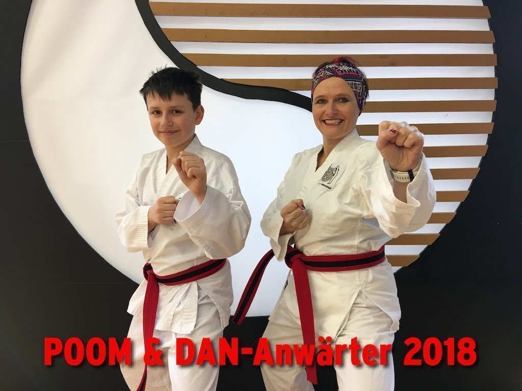 YOUNG-UNG Taekwondo Anwärter Schwarzgurt