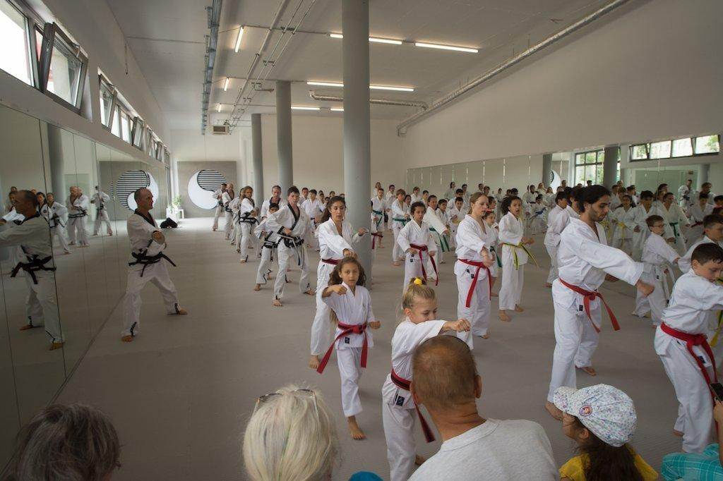 YOUNG-UNG Taekwondo Neueröffnung Wagramerstrasse 147A Donaustadt 1220 Wien Kampfsport