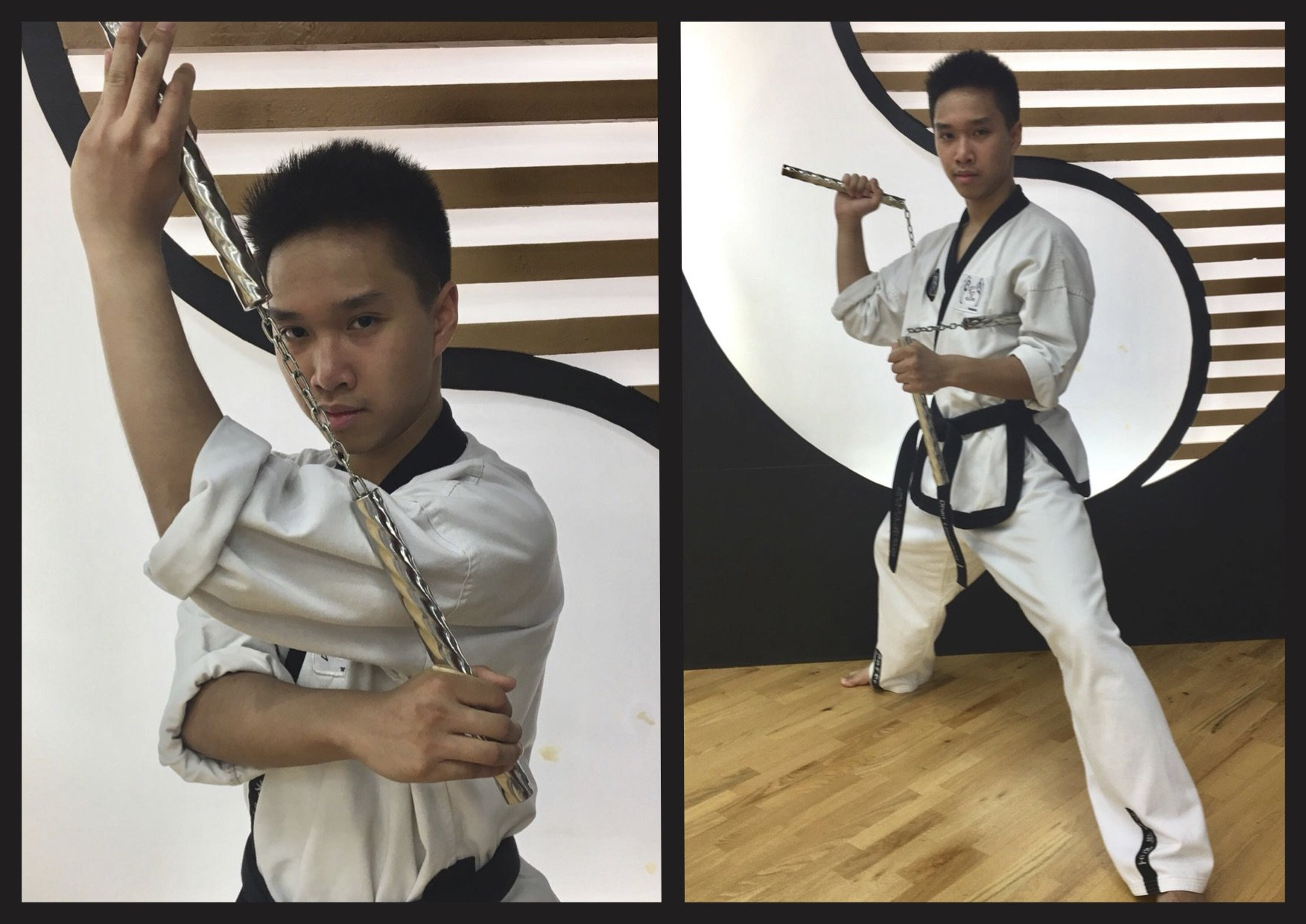 Nunchaku YOUNG-UNG Taekwondo Kampfsport