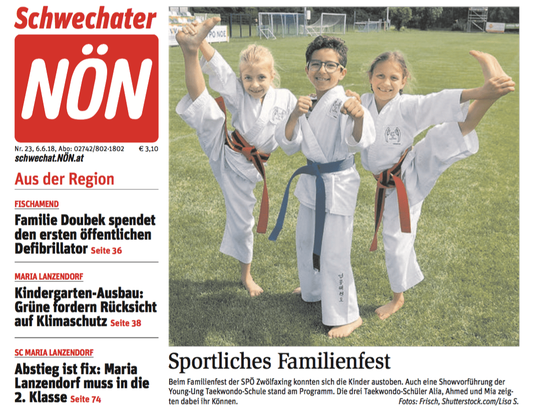 NÖN YOUNG-UNG Taekwondo Show Kampfkunst Zwölfaxing