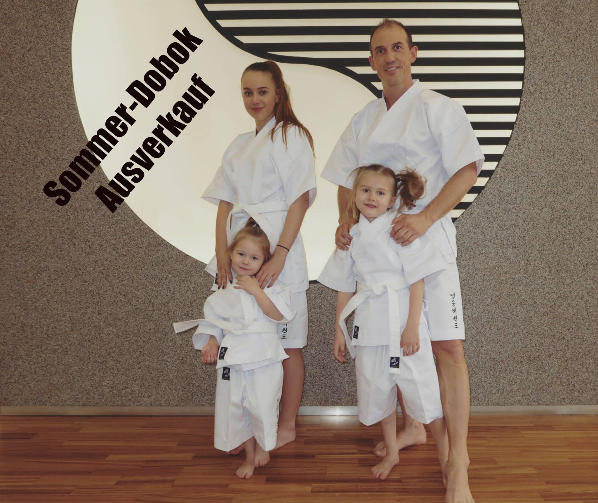 Sommer Dobok Ausverkauf YOUNG-UNG Taekwondo