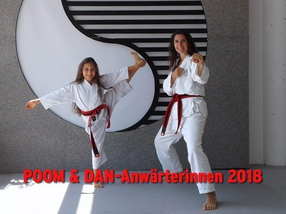YOUNG-UNG Taekwondo Kampfsport Schwarzgurt Bulgarien Camp