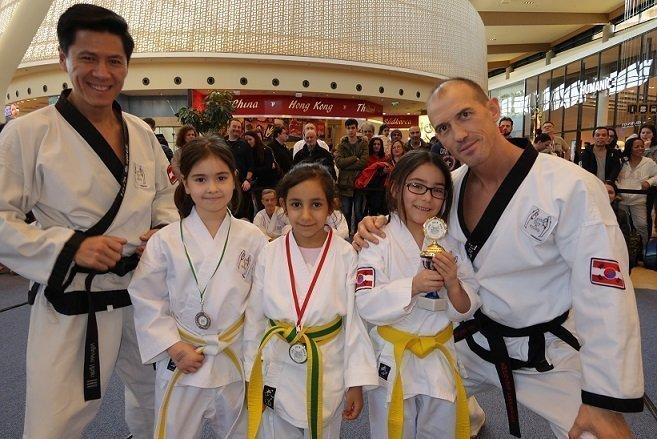 Sabomnim, Meister Nhan, Schüler, YOUNG-UNG Taekwondo, Turnier