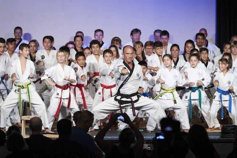 YOUNG-UNG Taekwondo Jubiläums-Gala Orpheum Show Kampfsport