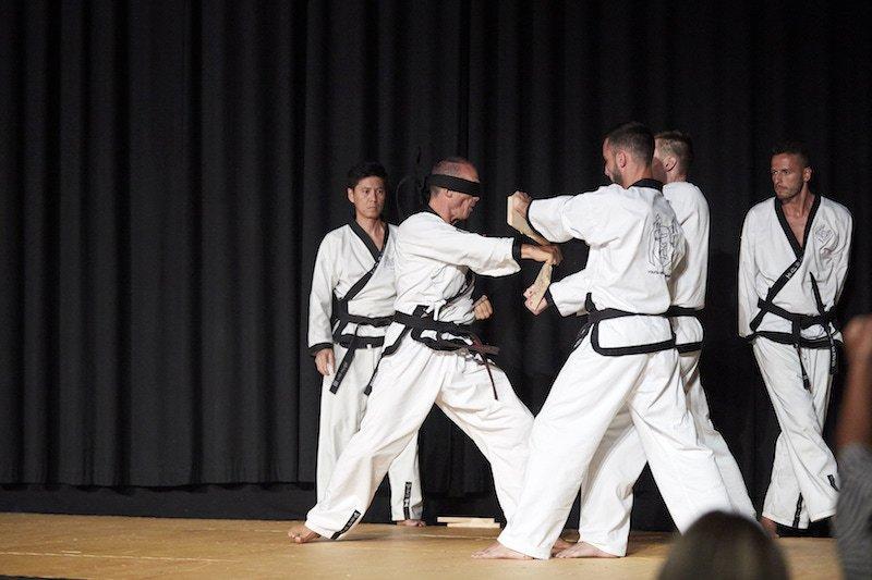 YOUNG-UNG Taekwondo Jubiläums Gala Rote Nasen Orpheum Kampfsport