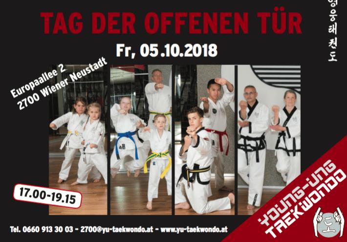 Tag der offenen Türe Wr. Neustadt Kampfsport