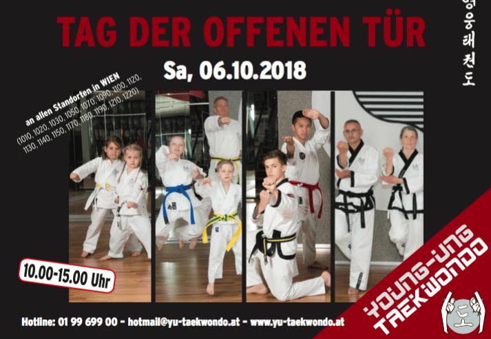Tag der offenen Türe Wien Perchtoldsdorf, Zwölfaxing, Graz, Krems, Mariazell Kampfsport schnuppern