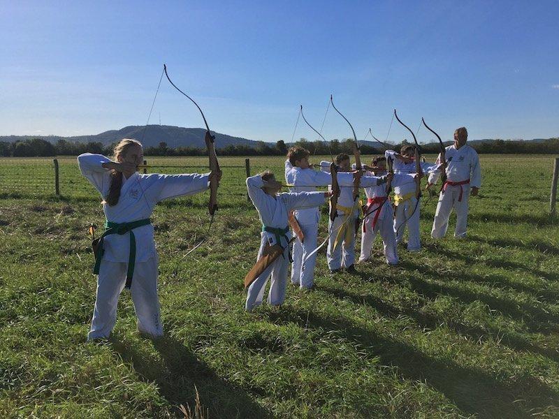 YOUNG-UNG Taekwondo Naturcamp