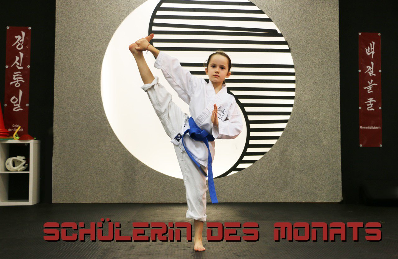 Schülerin des Monats YOUNG-UNG Taekwondo