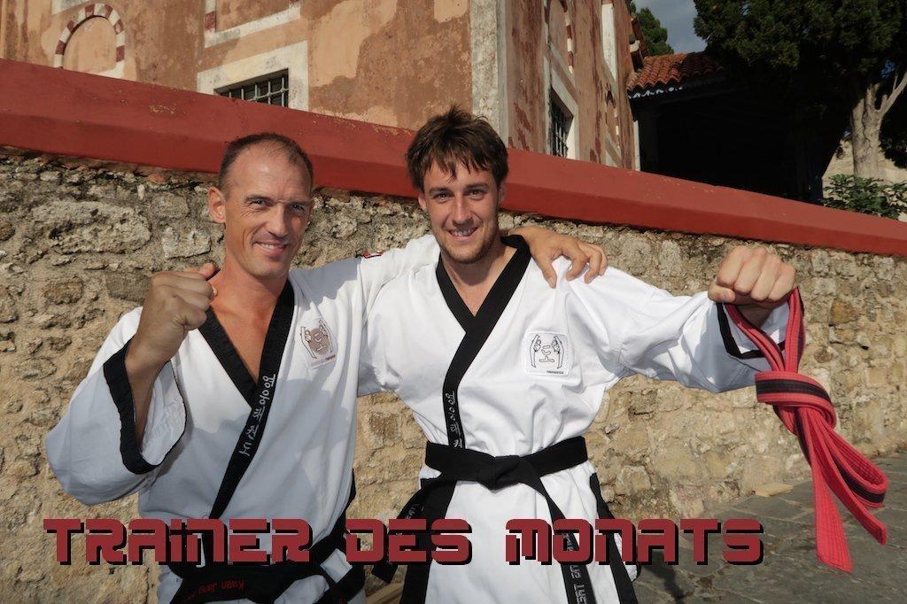 YOUNG-UNG Taekwondo Trainer des Monats Lukas Beduschi
