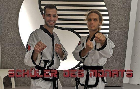 YOUNG-UNG Taekwondo Schüler des Monats Roman Waldner