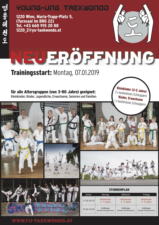 YOUNG-UNG Taekwondo Neueröffnung Aspern
