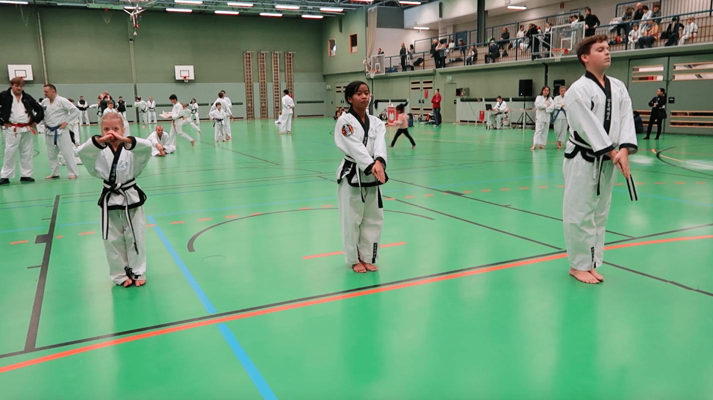 YOUNG-UNG Taekwondo Kampfsport Winterturnier 2018 Schulschiff