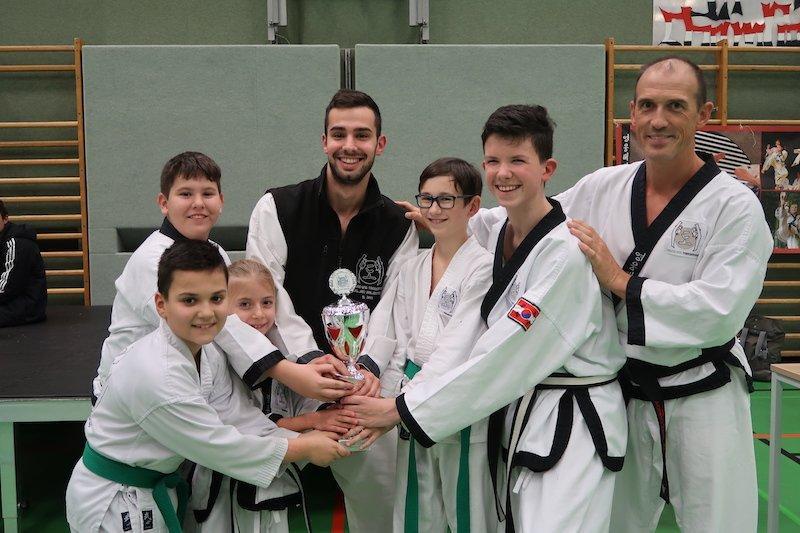 YOUNG-UNG Taekwondo Winterturnier 2018 Schulschiff Kampfsport