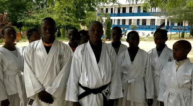YOUNG-UNG Taekwondo Spende Kenia