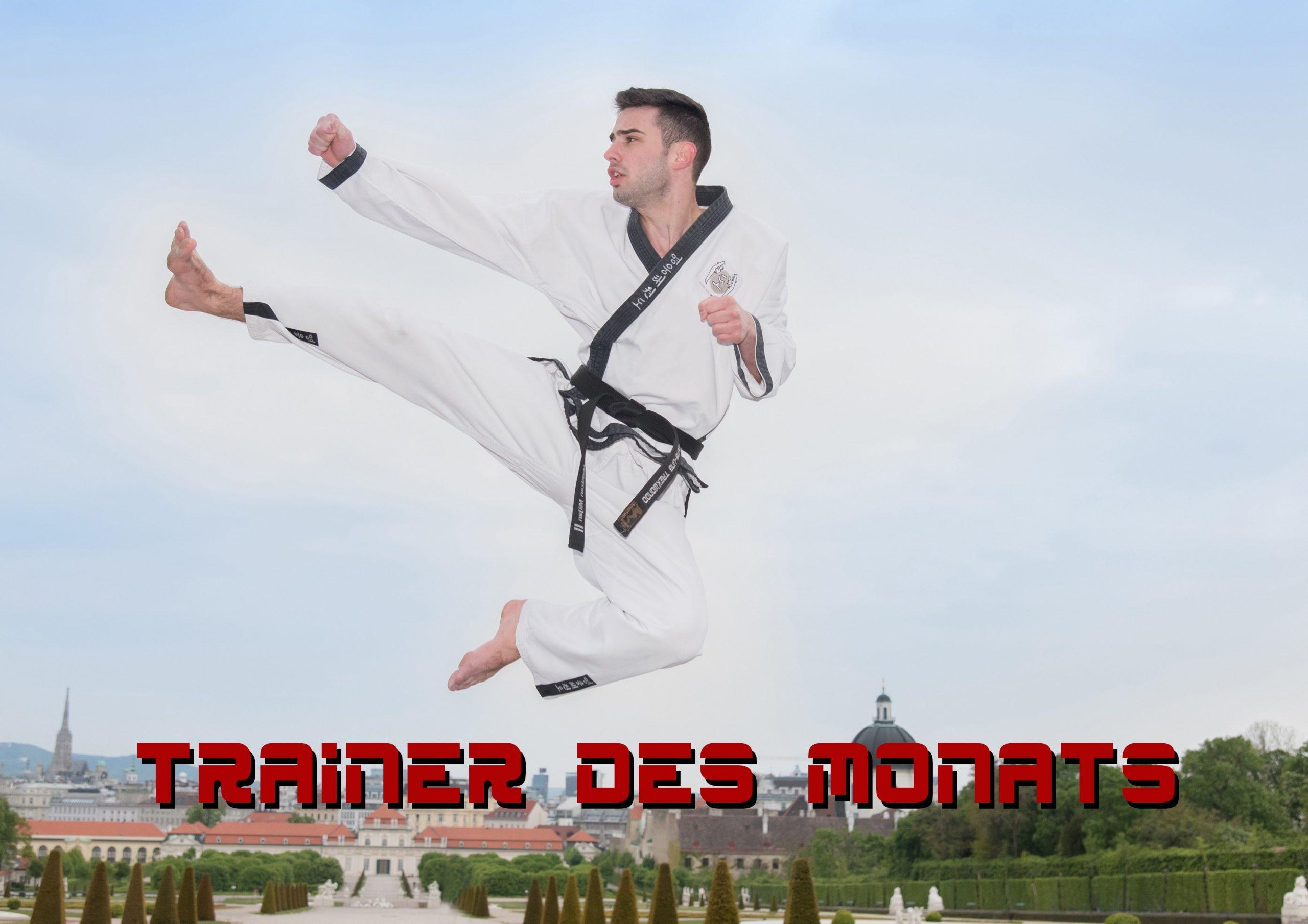 YOUNG-UNG Taekwondo Trainer des Monats Kampfsport Miljan Malidzan