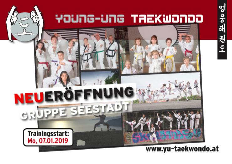 YOUNG-UNG Taekwondo Neueröffnung 1220 Wien