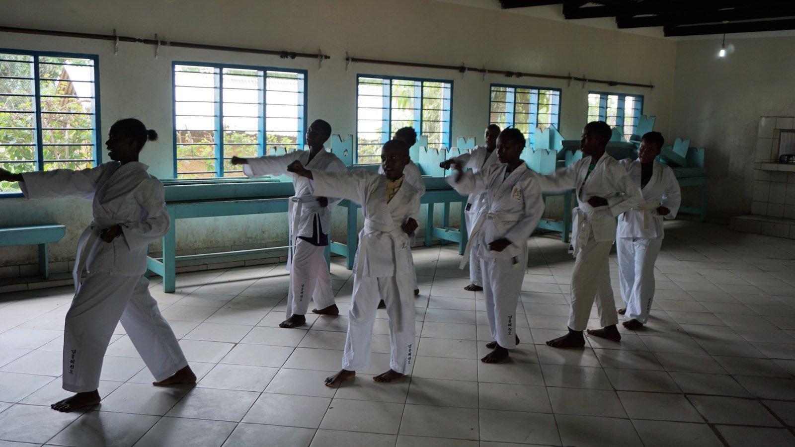 YOUNG-UNG Taekwondo Kilifi Vonwald School