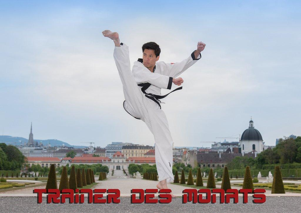 Trainer des Monats Nhan Nguyen YOUNG-UNG Taekwondo