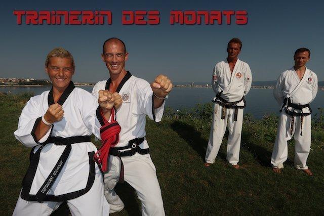YOUNG-UNG Taekwondo Kampfsport Trainerin des Monats Daria Giulietti