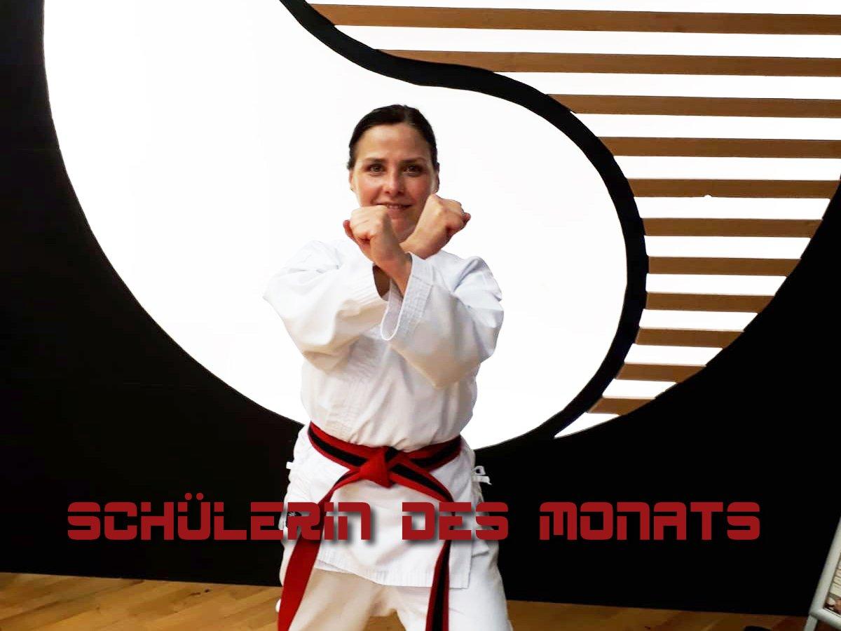 YOUNG-UNG Taekwondo Kampfsport Schülerin des Monats