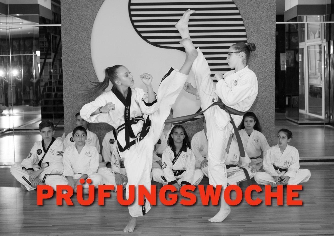 YOUNG UNG Taekwondo Prüfungen