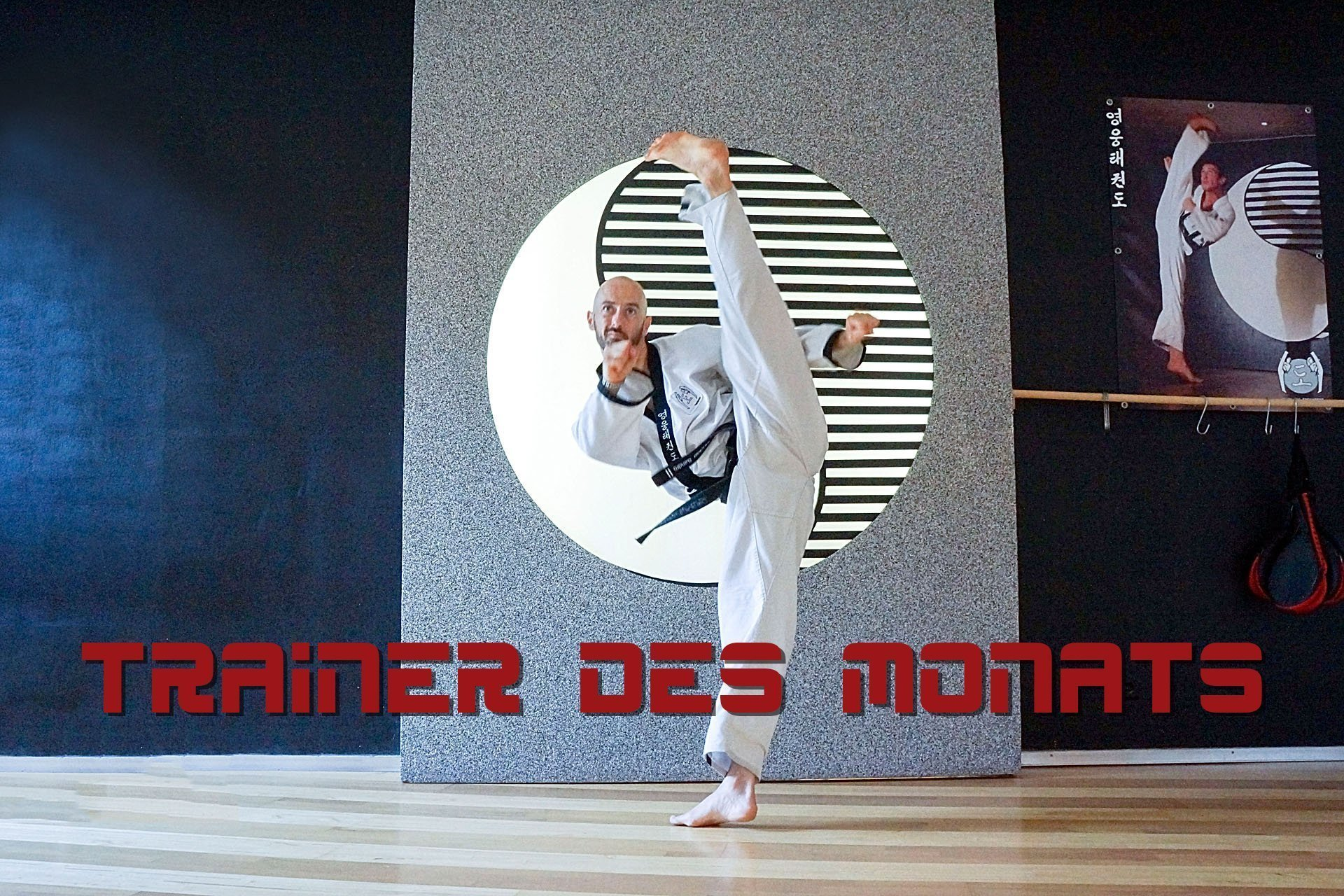 YOUNG-UNG Taekwondo Trainer des Monats Kampfsport Sandro Stückler