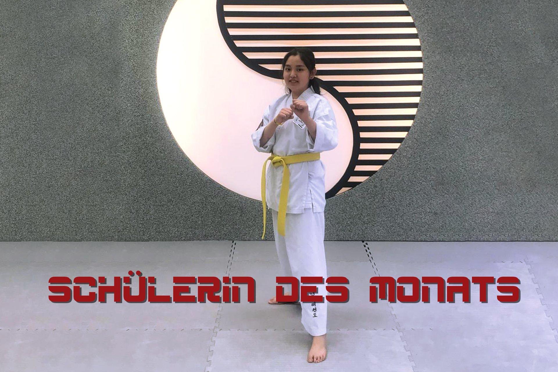 YOUNG-UNG Taekwondo Schülerin des Monats Kampfsport