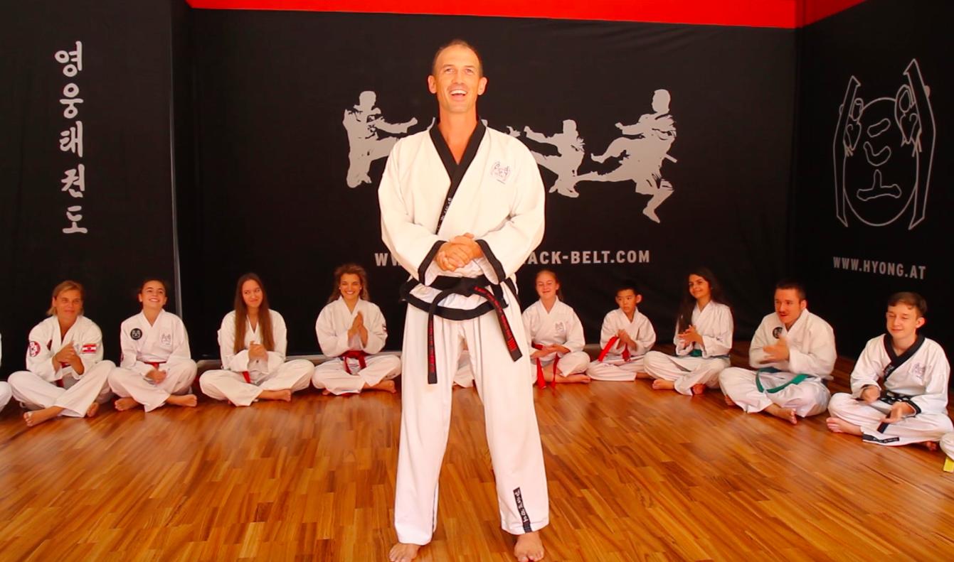 YOUNG-UNG Taekwondo Videoserie YouTube Tugenden des Taekwondo