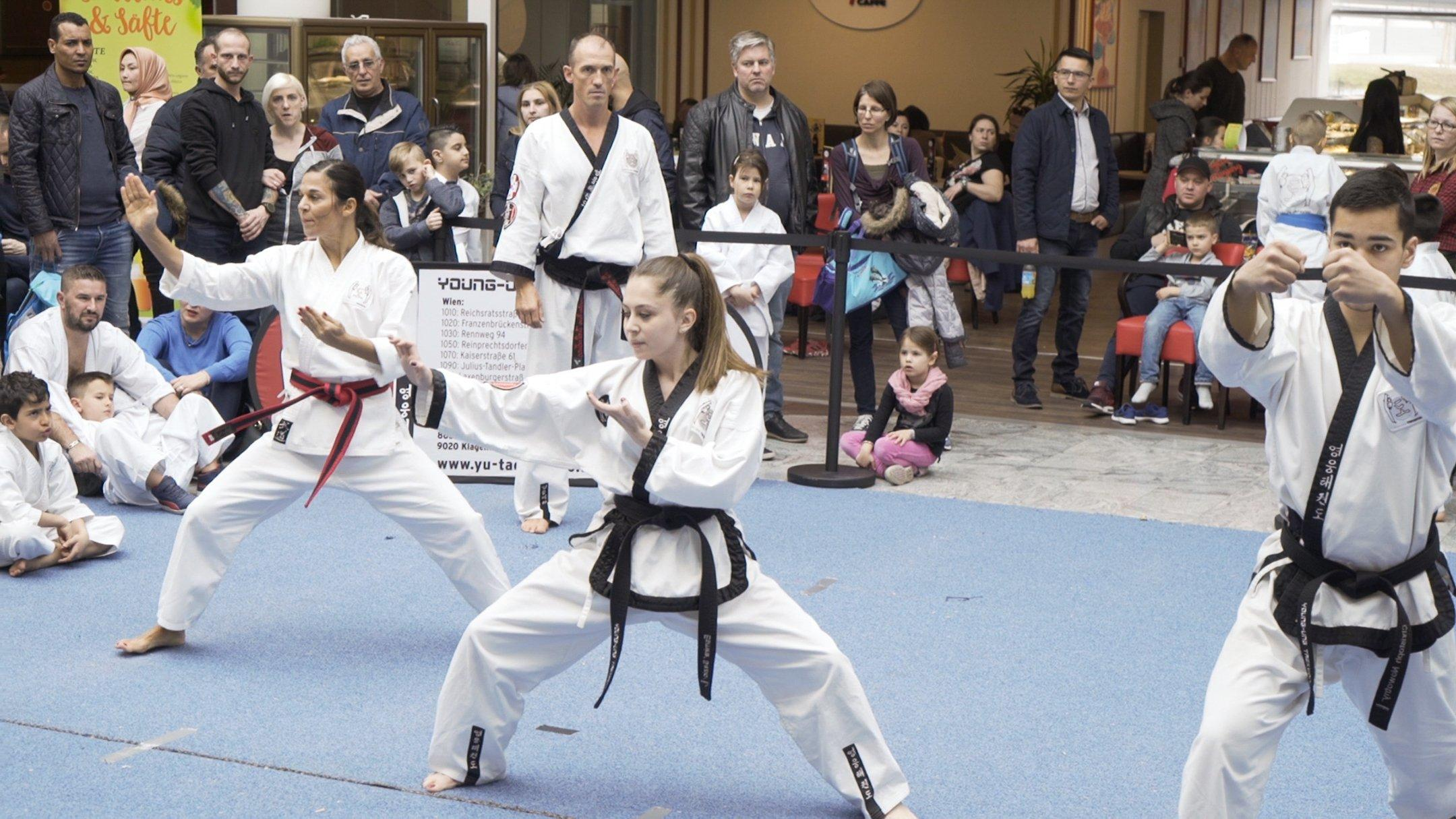 YOUNG-UNG Taekwondo Kampfsport SCN Turnier