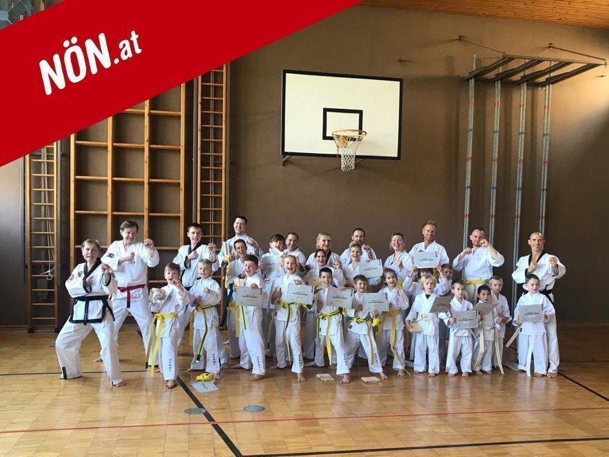 YOUNG-UNG Taekwondo Kampfsport NÖN Zwölfaxing