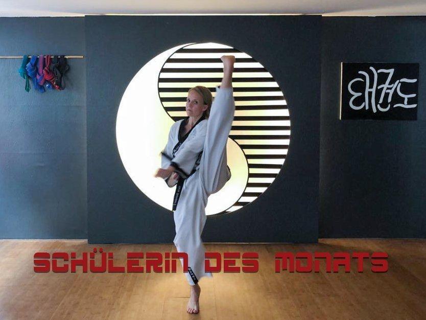 YOUNG-UNG Taekwondo Schülerin des Monats Marte Kampfsport