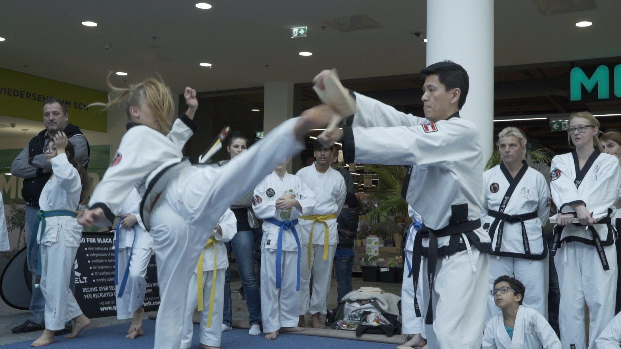 YOUNG-UNG Taekwondo Sommer Turnier Lugner City Wettkampf Kampfsport