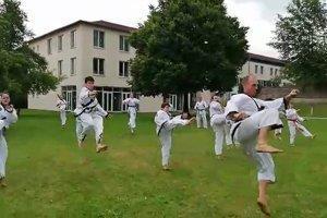 YOUNG-UNG Taekwondo Kloster Roggenburg Training Camp