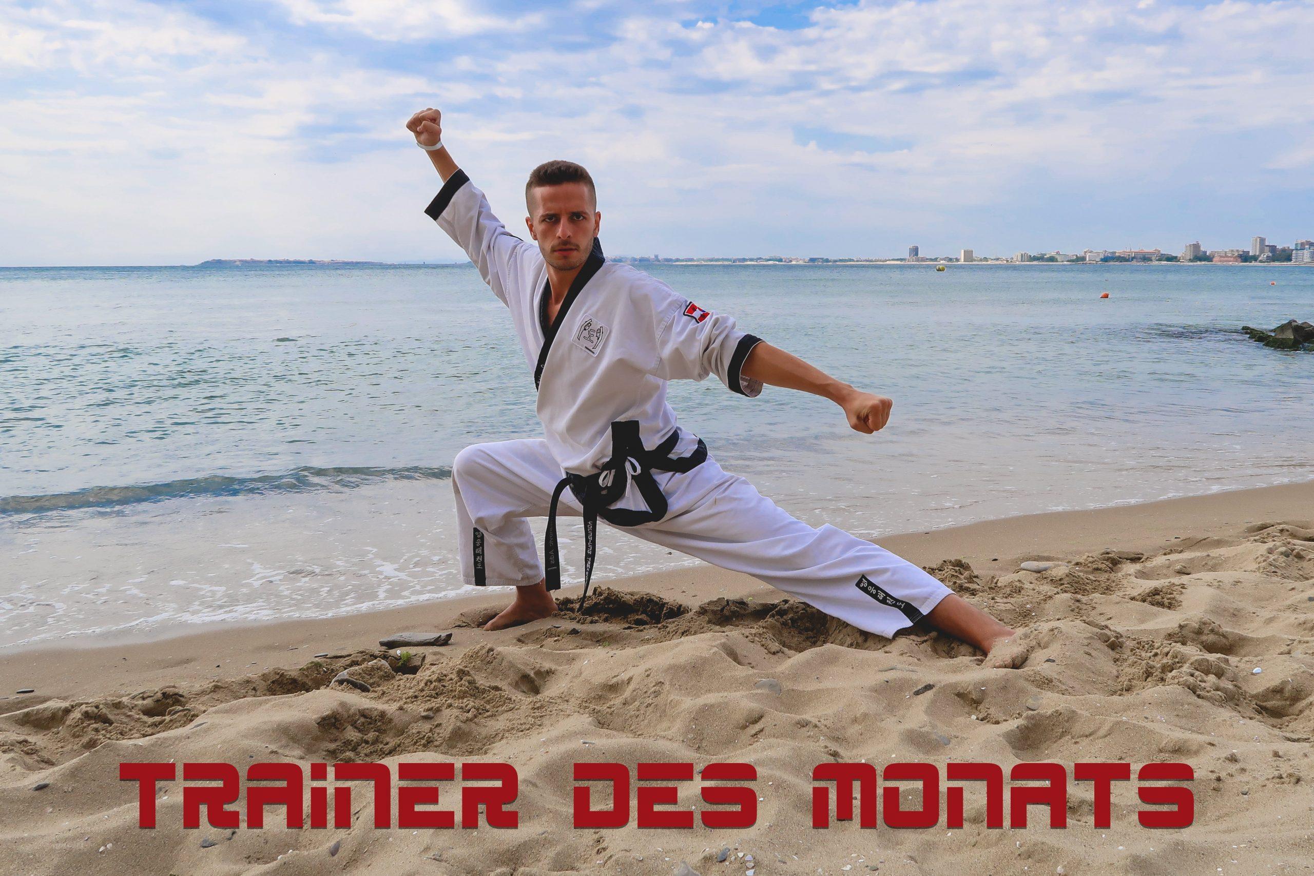 YOUNG-UNG Taekwondo Kampfsport Trainer des Monats