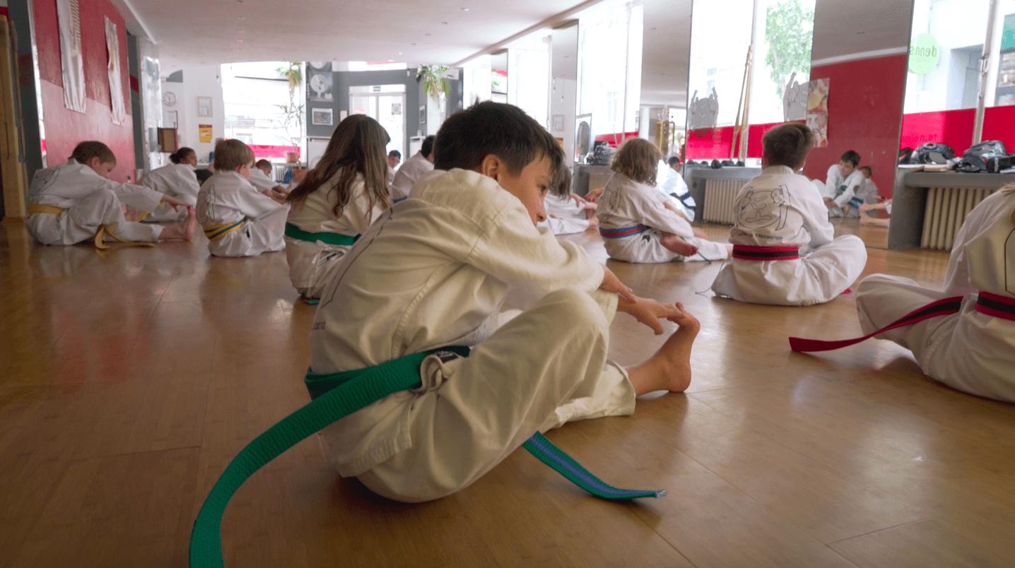 YOUNG-UNG Taekwondo Abenteuer Camp Kinder